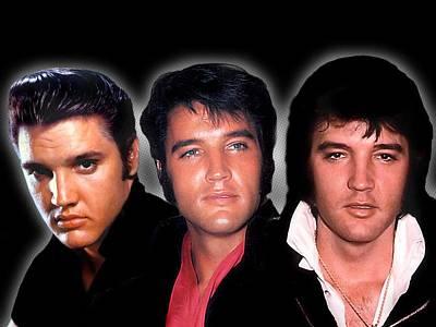 Love Digital Art - Elvis Presley by Maye Loeser