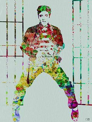 Elvis Presley Painting - Elvis Presley by Naxart Studio