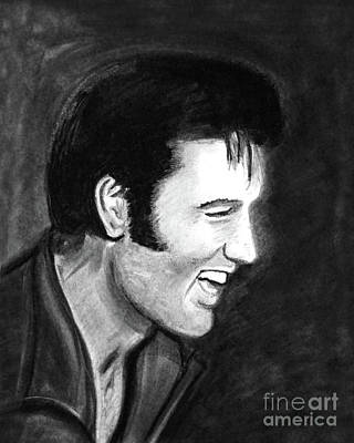 Photograph - Elvis Presley - Painting by Doc Braham