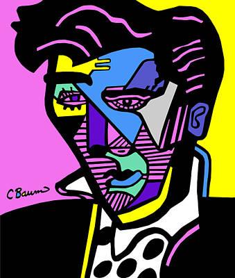 Elvis Presley Poster Original by C Baum