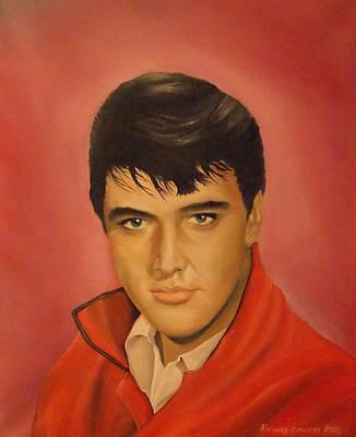 Elvis Presley Original by Richard Leivers