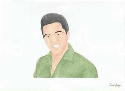 Elvis Presley Art Print by Toni Jaso