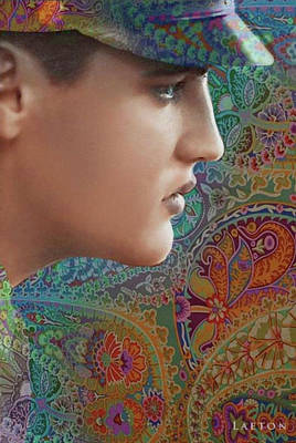 Digital Art - Elvis by Richard Laeton