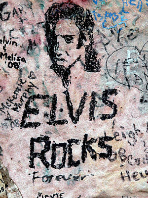 Photograph - Elvis Rocks by David Bearden