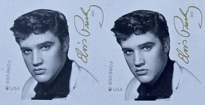 Photograph - Elvis Stamps by Caroline Stella