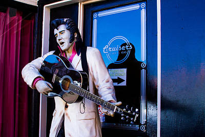 Photograph - Elvis Tribute In Williams Az by Bonnie Follett
