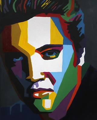 Elvis Wpap Art Original by Amber McNeel