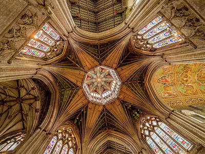 Photograph - Ely Cathedral by Jean Noren
