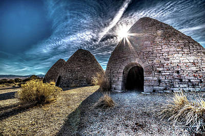 Ely Charcoal Ovens Art Print by Bryan Moore