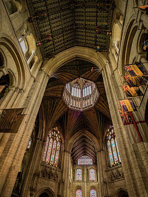 Photograph - Ely Flags by Jean Noren