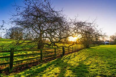 Photograph - Ely Park Sunrise by James Billings