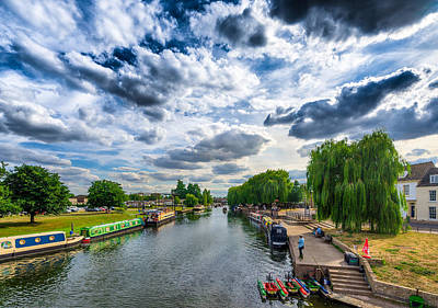 Art Print featuring the photograph Ely Riverside by James Billings