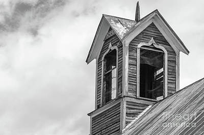 Photograph - Ely Vermont Barn 1899 Barn Cupola by Edward Fielding