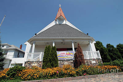 Photograph - Emanuel Lutheran Church  Patchogue Ny by Steven Spak