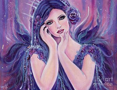 Ethereal Art Painting - Emanuelle by Renee Lavoie