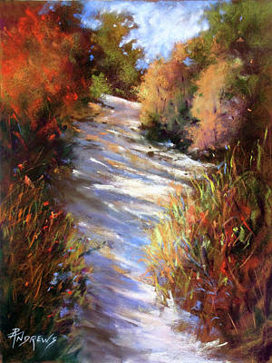 Painting - Embankment And Shadows by Rae Andrews
