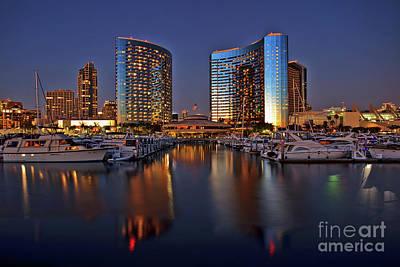 Photograph - Embarcadero Marina Park North, San Diego, California by Sam Antonio Photography