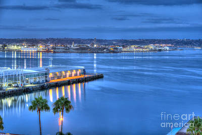 Photograph - Embarcadero Munincipal Pier by David Zanzinger