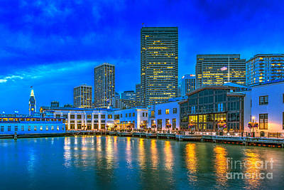 Photograph - Embarcadero Pier 3 Financial District by David Zanzinger