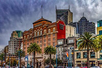 San Francisco Embarcadero Photograph - Embarcadero Street by Bill Gallagher