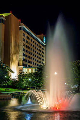 Photograph - Embassy Suites Huntsville by David Morefield