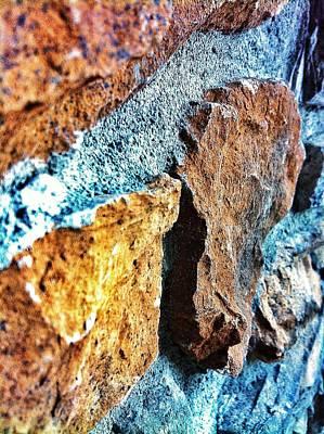 Photograph - Embedded Stones by Eddie G