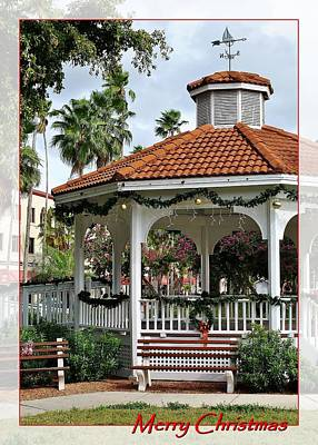 Photograph - Embellished Gazebo by John Hintz