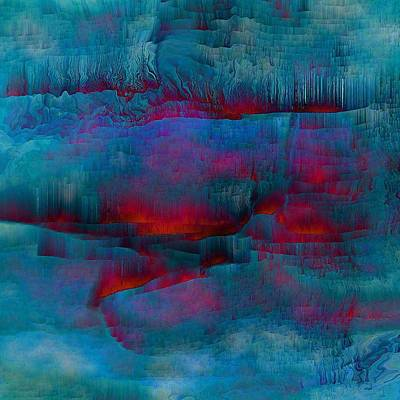 Abstract Digital Digital Art - Embers by Susan  Epps Oliver