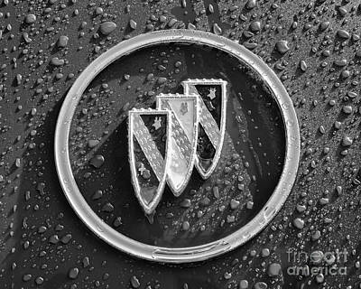 Photograph - Emblem Mono by Dennis Hedberg