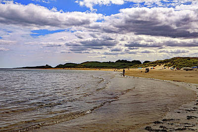 Granger Royalty Free Images - Embleton Bay Royalty-Free Image by Tony Murtagh
