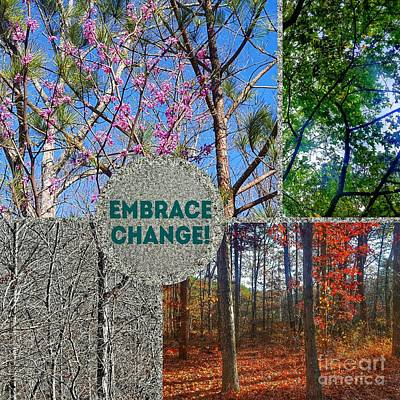 Photograph - Embrace Change by Rachel Hannah