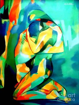 Painting - Embrace by Helena Wierzbicki