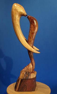 Sculpture - Embrace II by Windy Dankoff