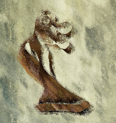 Stone Abstraction Painting - Embrace by Jack Zulli