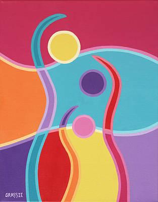 Embrace Art Print by Jeff Grassie