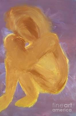 Embrace Art Print by Karen L Christophersen