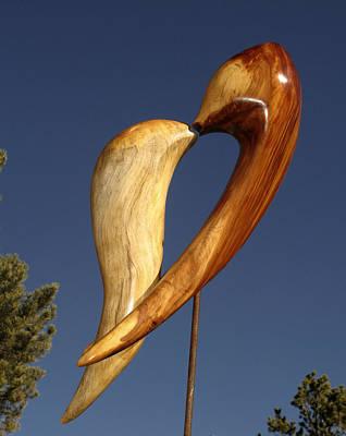 Sculpture - Embrace by Windy Dankoff