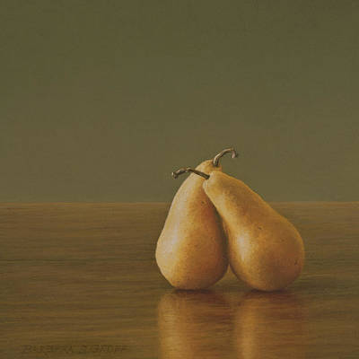 Still Life Painting - Embraced by Barbara Groff