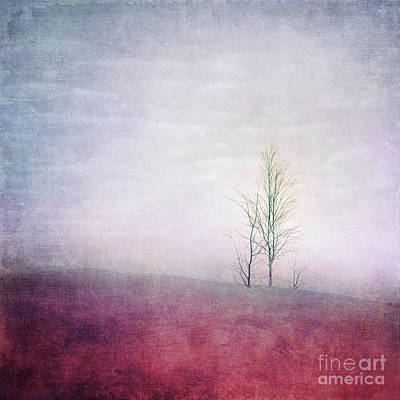 Embracing Solitude Print by Priska Wettstein