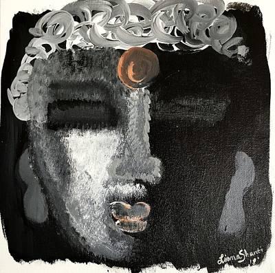 Painting - Embracing The Shadow by Liana Shanti