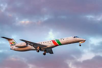 Photograph - Embraer Erj-145 by Hernan Bua