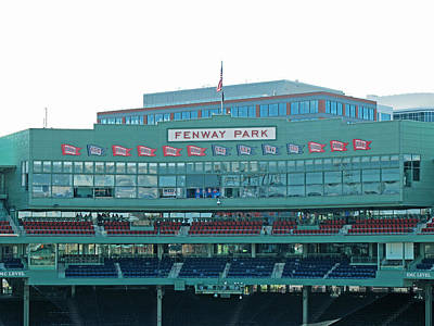 Photograph - Emc Seats And Press Boxes by Barbara McDevitt
