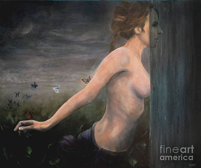 Painting - Emelia by Julie Bond