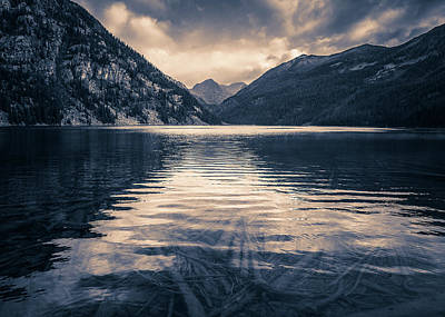 Photograph - Emeral Lake by Whit Richardson