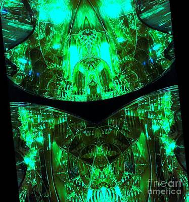 Photograph - Emerald Abstract by Jenny Revitz Soper