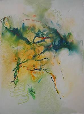 Emerald Art Print by Azam Zadeh