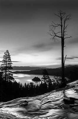 Photograph - Emerald Bay Dawn by Maria Coulson