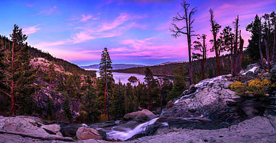 Photograph - Emerald Bay Dreaming By Brad Scott by Brad Scott