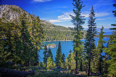 Photograph - Emerald Bay In Lake Tahoe by Lynn Bauer