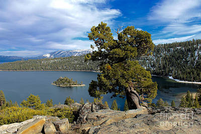 Photograph - Emerald Bay by Irina Hays